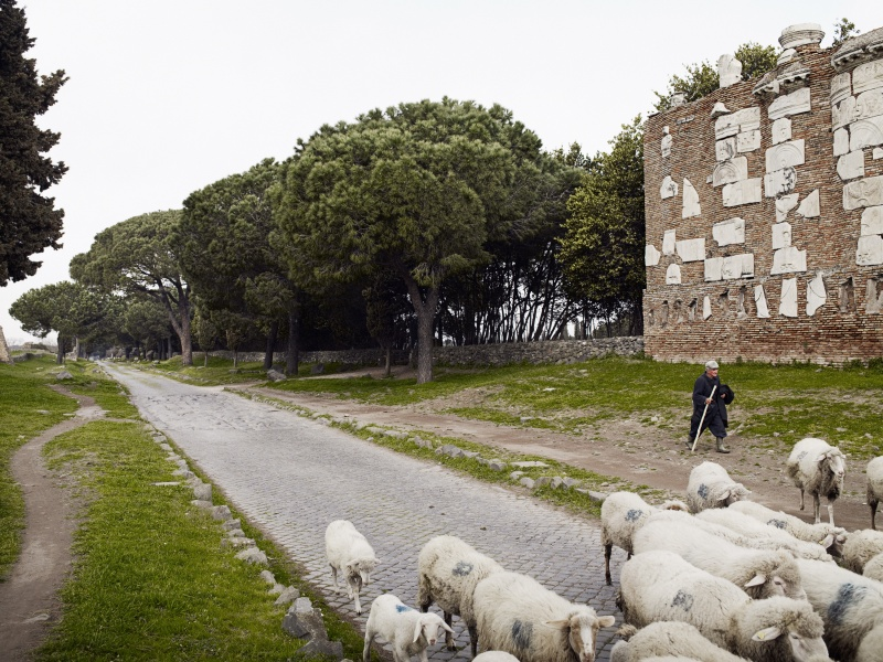 Via Appia to Rome